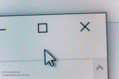 Ekran monitora - fragment