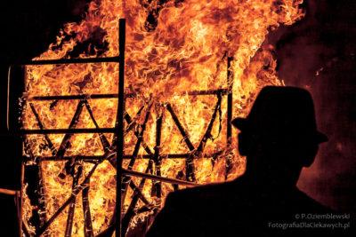 czas naświetlania - ogień