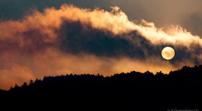 Dzisiejszy wschód słońca na dobry początek dnia