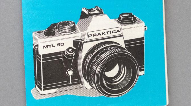 PRAKTICA MTL 50 – kolejna odnaleziona instrukcja do aparatu