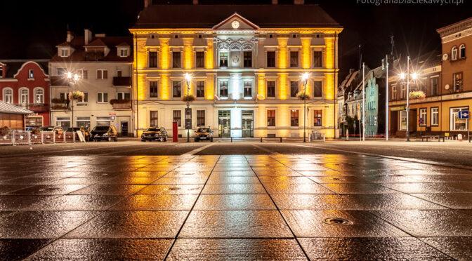 Z wieczornej i nocnej sesji fotograficznej w Czarnkowie
