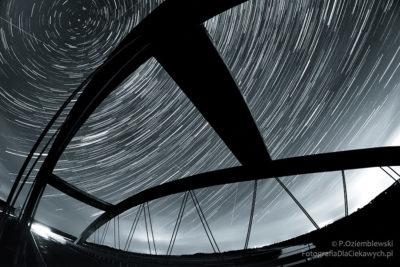 Startrails - ruch gwiazd