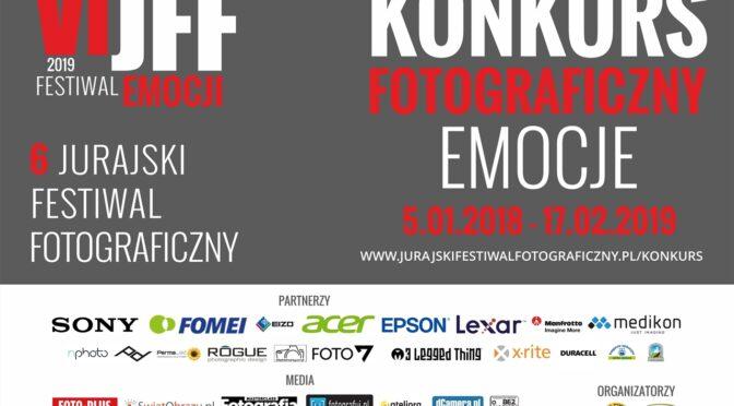 Konkurs EMOCJE w ramach 6 Jurajskiego Festiwalu Fotograficznego