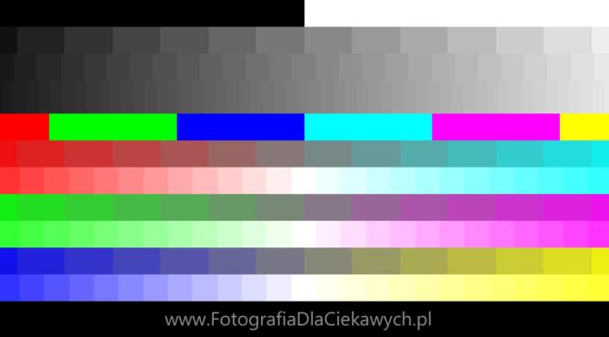 Prosta kalibracja monitora – test jasności i kontrastu