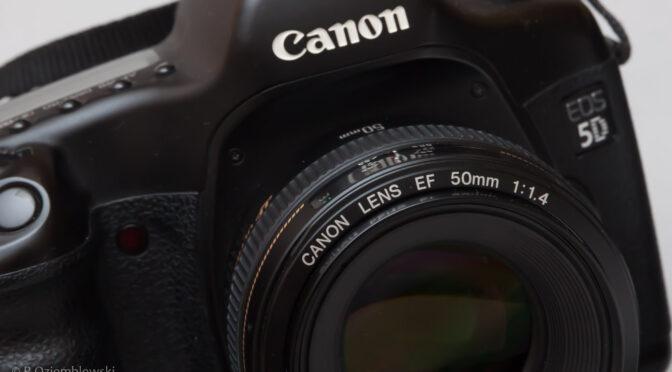 Używany aparat fotograficzny EOS 5D