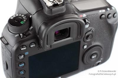 Używany aparat fotograficzny - czystość wizjera iwyświetlaczy