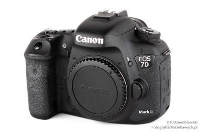 Używany aparat fotograficzny EOS 7D mark II