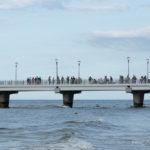 Molo w Kołobrzegu - czas 1/320 sekundy