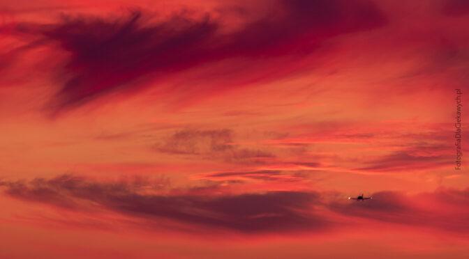 Tapety na pulpit komputera – niebo po zachodzie słońca