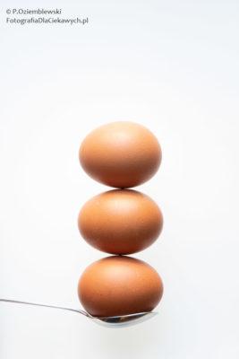 Trzy jaja.