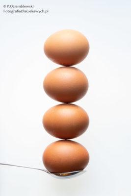 Cztery jaja.