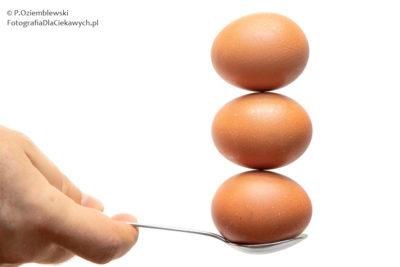 Zdjęcie finałowe ztrzema jajami
