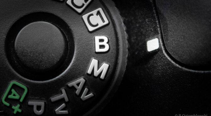 Jak ustawić długi czas naświetlania? – tryb BULB