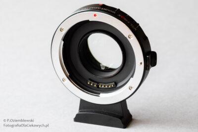 Viltrox EF-M2 II - adapter bagnetowy Canon EF doMFT