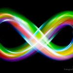 Malowanie światłem - świetliste mazaje - nieskończoność