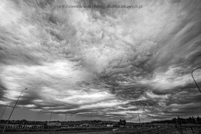Asperitas - chmury jak wzburzone ifalujące morze