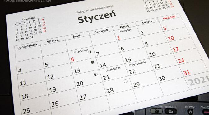 Jak wydrukować kalendarz z pliku PDF – warianty i możliwości