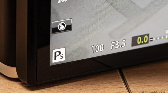 """Co oznacza """"przesunięcie programu – Ps"""" w aparatach Olympus"""