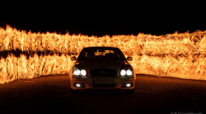 Ściana ognia – jak wymalować. Opis z pierwszej próby.